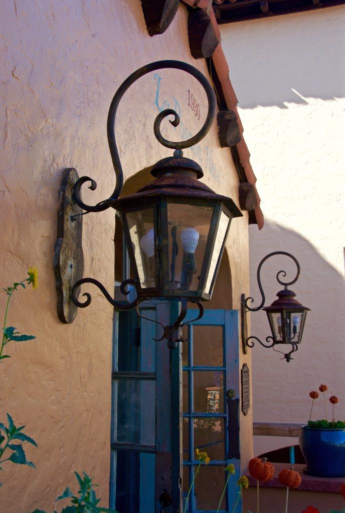 Lamps at La Posada Hotel